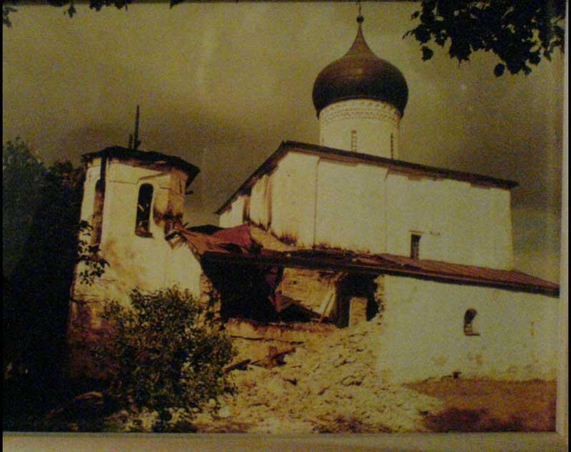 Фотоальбом - Храм в 2003 году